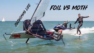 FOIL VS MOTH 🤠 Vidéo 5000 abonnés 🥳 MERCI!!!!! 🤙