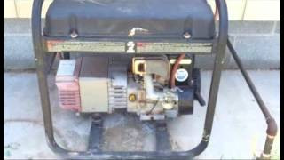 How to convert a small gasoline engine to Natural Gas or Propane.