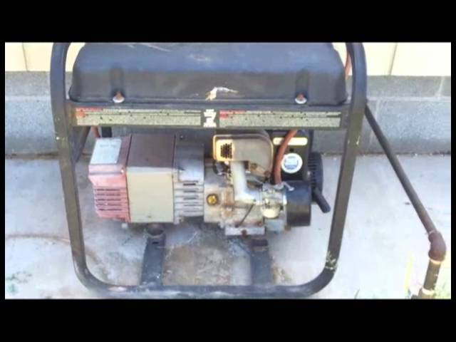 How To Convert A Small Gasoline Engine To Natural Gas Or Propane Youtube