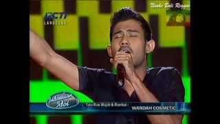 Dion Indonesian Idol - No Woman No Cry (Bob Marley)