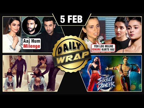 Deepika Meets Ranbir, Kangana Slams Alia, Salman Sooraj Barjatya Reunite | Top 10 News