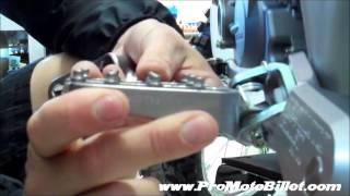 fastway evolution 3 footpegs on the honda 250f 2012