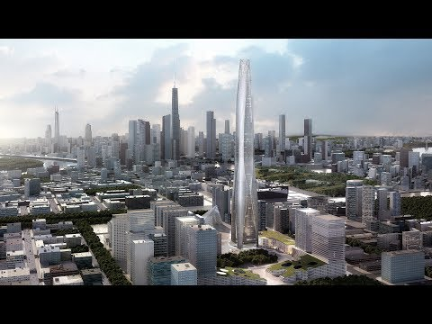 Así va La Construcción del Rascacielos Tianjin CTF Finance Centre 530m