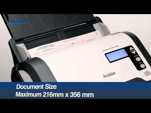 Avision Duplex Document Scanner AV280
