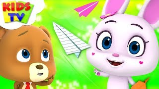 Paper Plane Challenge | Loconuts Cartoons For Babies | Video For Children by Kids Tv