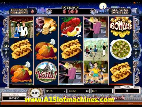 online slot machines free spin game
