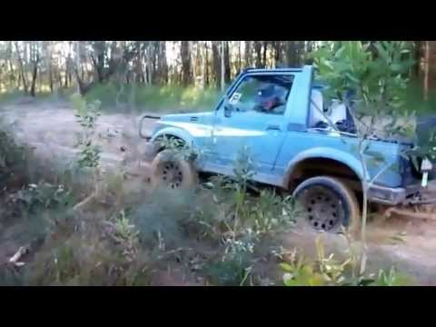 4x4 stuck in mud Highlights (hilarious) - Novice off road girl driver panics when bogged Travel Video