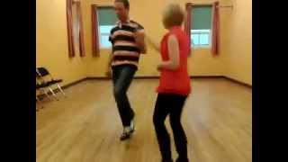 Niall Doorhy Dancer demonstrating Irish Country Music Jive