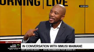 Maimane talking a new movement