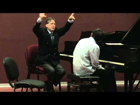 Robert Levin masterclass-Ariel Lanyi plays Franck