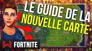 GUIDE DE LA NOUVELLE CARTE 2.0 | Fortnite Battle Royale