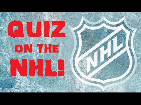 Hardest QUIZ on the NHL! - History, Stats & Fun Facts