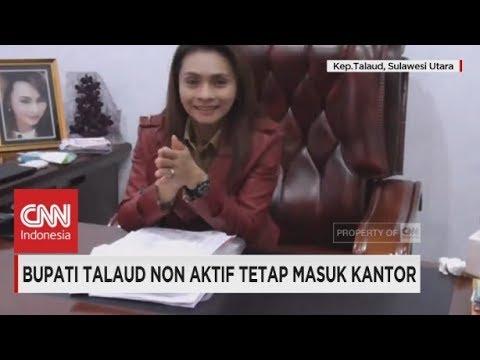 Bupati Talaud Non Aktif, Sri Wahyumi Maria, Tetap Ngantor