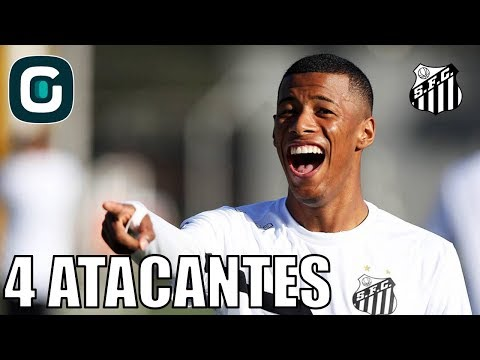 Esquema Tático Com 4 Atacantes No Santos- Gazeta Esportiva (11/04/18)
