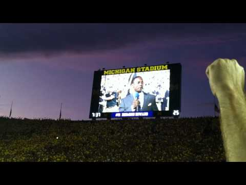 Under the Lights pregame- Desmond Howard Tribute
