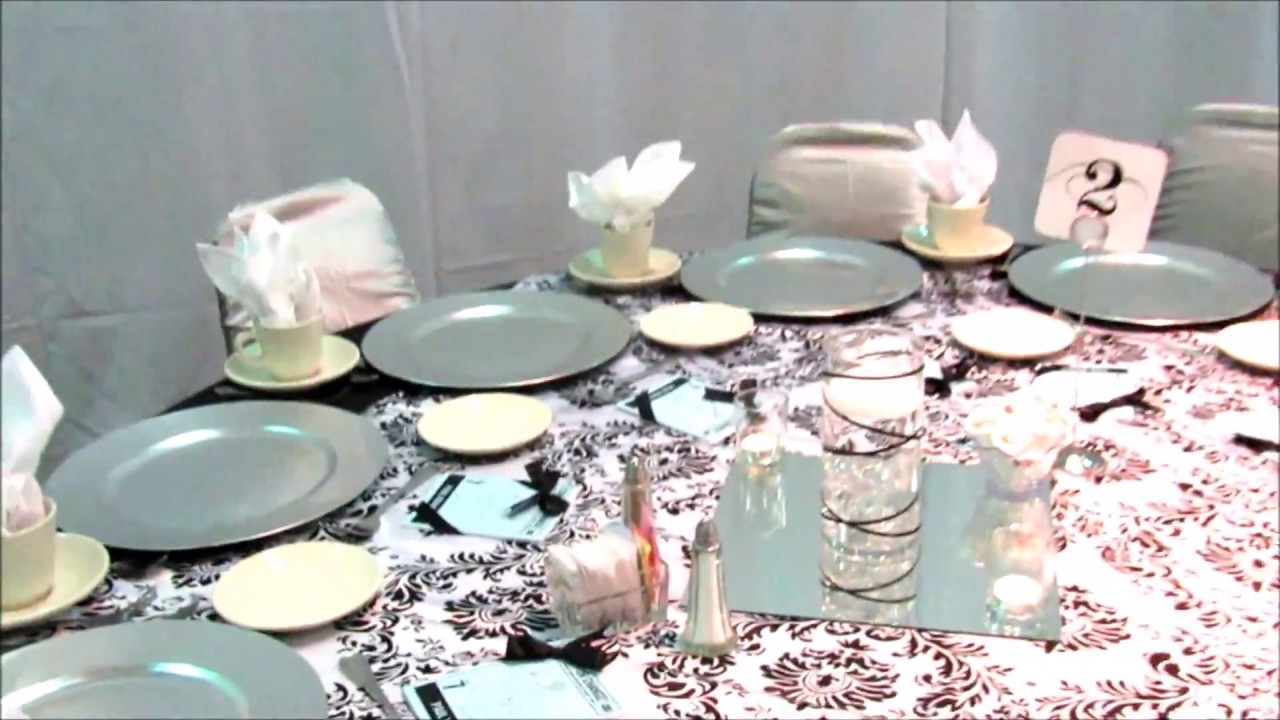 Faos events decoracion blanco y negro en portland youtube - Decoracion en blanco y negro ...