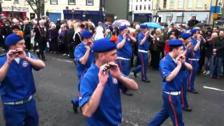 Edenmore Flute Band Limavady Easter Monday 2012