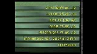 Видеоуроки по ивриту (Мишпахат Гуревич). Урок 6. День рождения