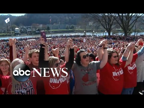 West Virginia teachers vow to remain on strike