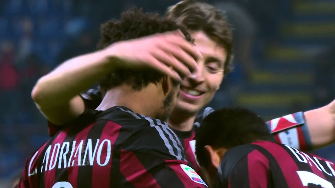 Il gol di Luiz Adriano Milan Sampdoria 4 1 Giornata 14 Serie