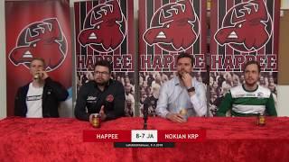 Lehdistötilaisuus: Happee - Nokian KrP, 4. välierä 9.4.2018