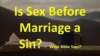 Biblical scripture about premarital sex