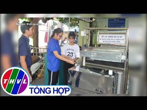 THVL   Người Việt tạo hệ thống hút ẩm từ không khí thành nước uống