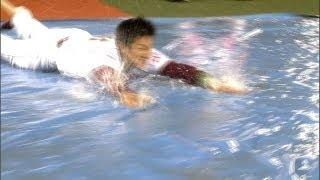 雨々降れ降れ♪ノーゲームで運動会 阿部俊、銀次2連発! 5月22日 楽天-中日