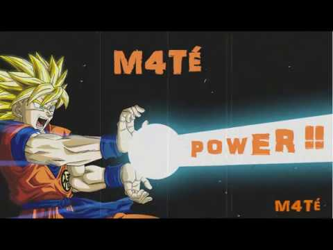 """""""Power"""" - Hiphop Beat - AMV DBZ - Trap Instrumental - M4TÉ - 2017"""
