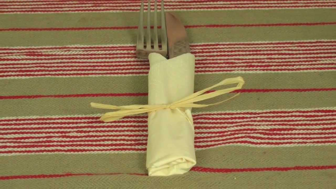 Easy Origami For Napkins