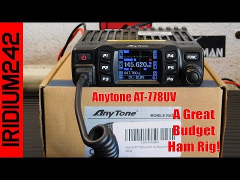 AnyTone AT 778UV A Great Budget Minded Ham Rig