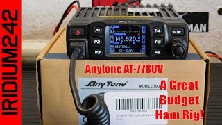 Gambar cover AnyTone AT 778UV A Great Budget Minded Ham Rig