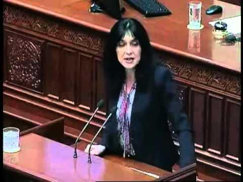 Силјановска: Се уништи центарот за трансплатациона ме�...