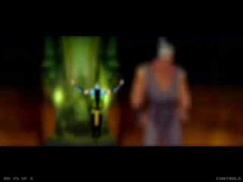 Mortal Kombat vs. Street Fighter 3 - Khameleon vs. Akuma PT1