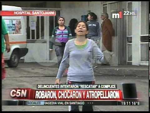 C5N - POLICIALES: TENSION EN EL HOSPITAL SANTOJANNI (PARTE 4)