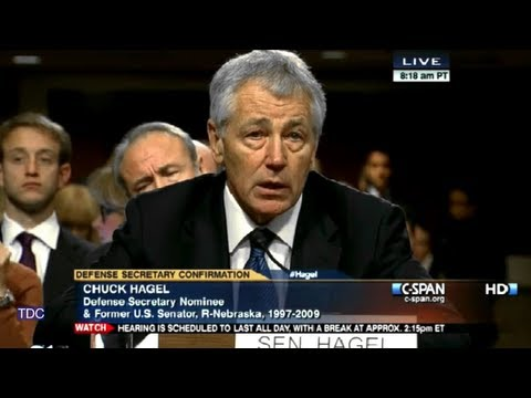 "Chuck Hagel: ""I saw the horror of war"""