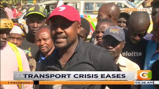 Transport crisis eases in Kitale