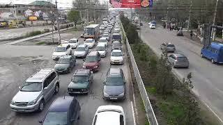 Транспортный коллапс в Бишкеке