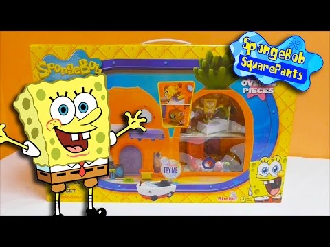 Little Kelly - Toys & Play Doh : SPONGEBOB PINEAPPLE UNDER THE SEA (Bikini Bottom)