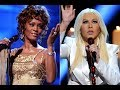 Christina Aguilera Performs Stirring Tribute to Whitney Houston at AMAs - Daily News