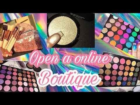 How to start a cosmetic line I where to buy products