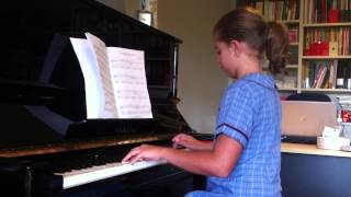 """Royal March of the Lion"" played by Tiahne  (AMEB Preliminary Grade Piano for Leisure)"
