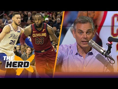 Colin doesn't see how LeBron and Ben Simmons could fit together on the 76ers | THE HERD