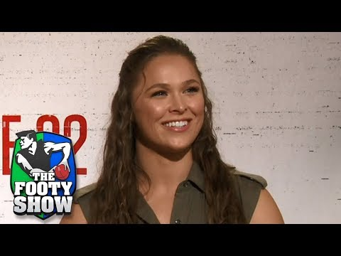 Sam sits down with UFC legend Ronda Rousey | AFL Footy Show 2018