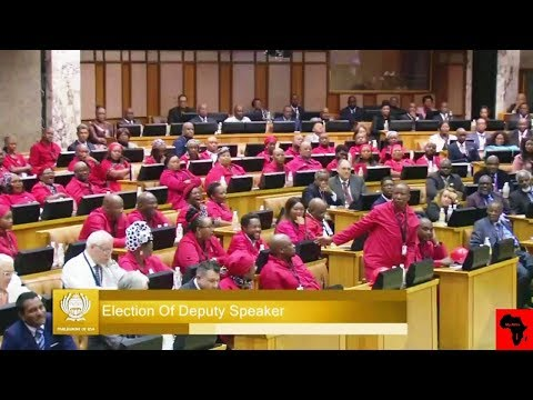 DRAMA - Election Of Speaker And Deputy In Parliament