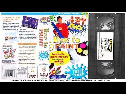 Art Attack - How to Paint [VHS] (2000)
