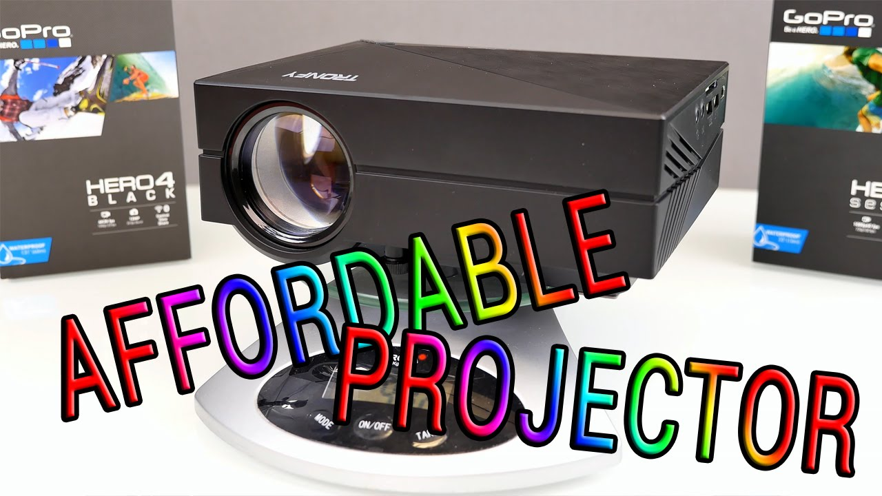 super cheap projector should this be your next one tronfy gm60
