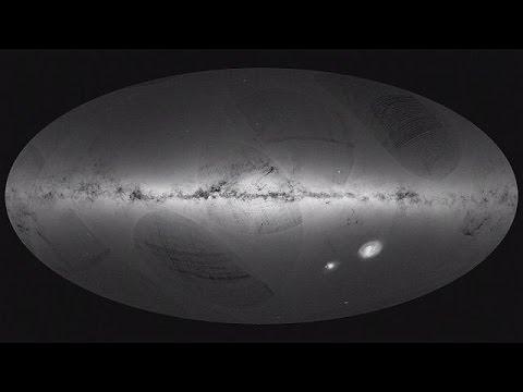 """""""Gaia"""" Samanyolu'nun 3 boyutlu haritasını çıkarıyor"""