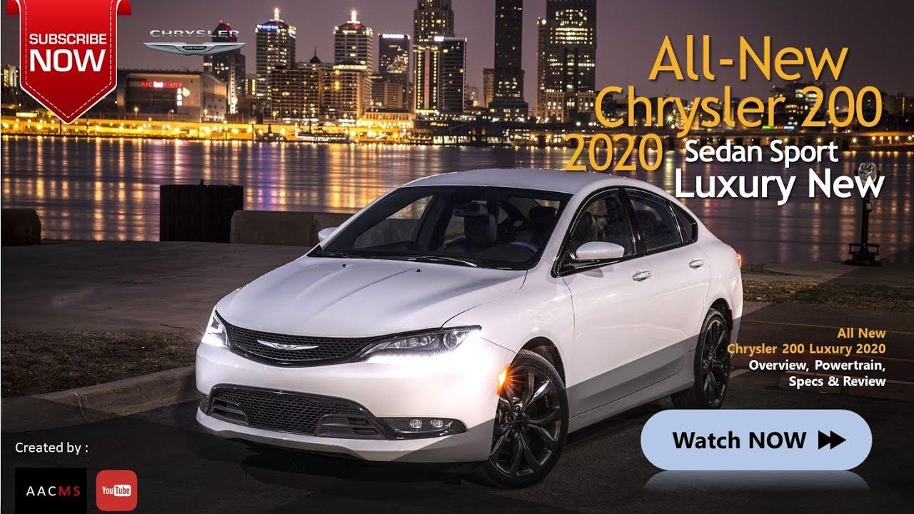 2020 Chrysler 200 Release
