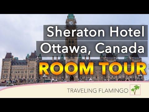 Sheraton Ottawa Hotel Tour & Club Lounge Review